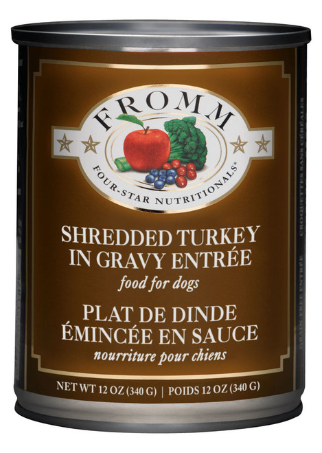 Fromm Four Star Shredded Turkey In Gravy