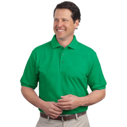 Men's silk touch polo