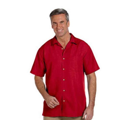 Textured Camp Shirt
