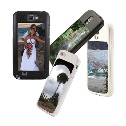 Customized phone case with changeable image plates