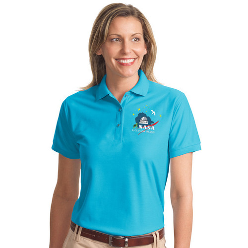 Soft cotton/poly blend ladies polo