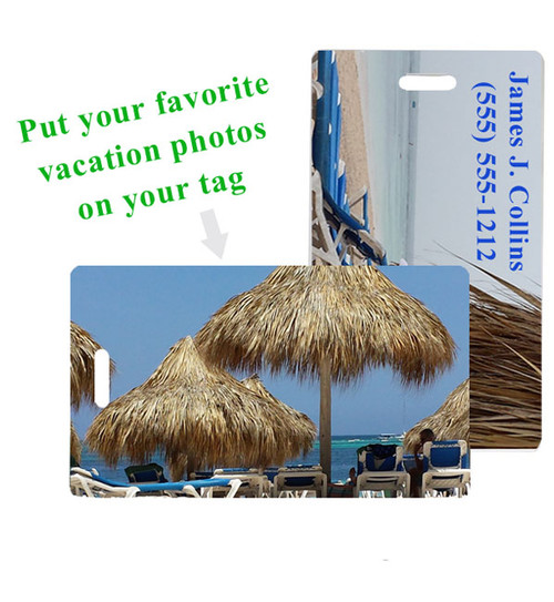 Add your own vacation pic or artwork