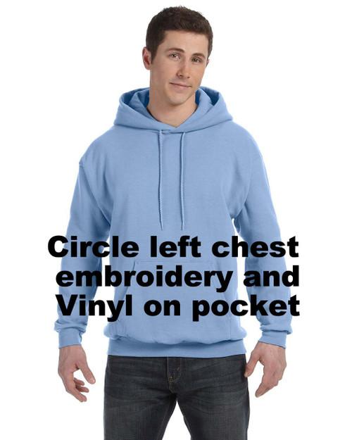 Pullover Hoodie  RHStyle-RGBemb