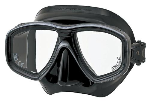 Tusa Ceos Mask - Black / Black