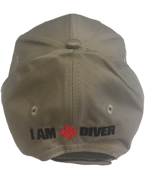 I Am Canadian Diver ball cap