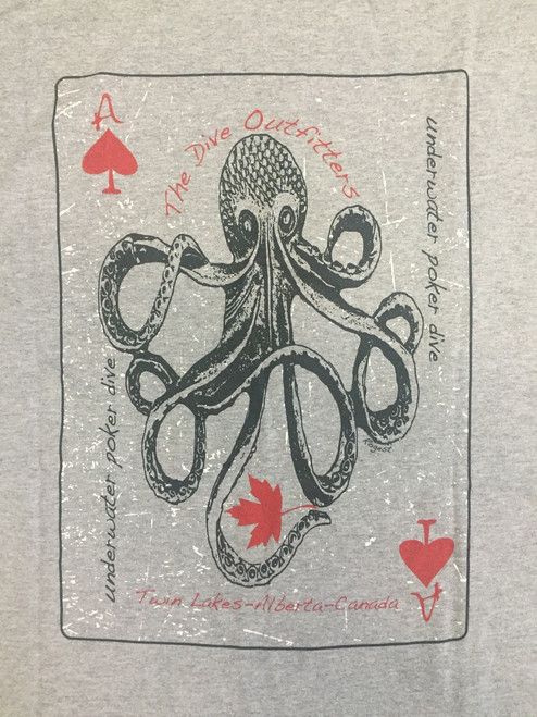 World Series of Underwater Poker dive tshirt