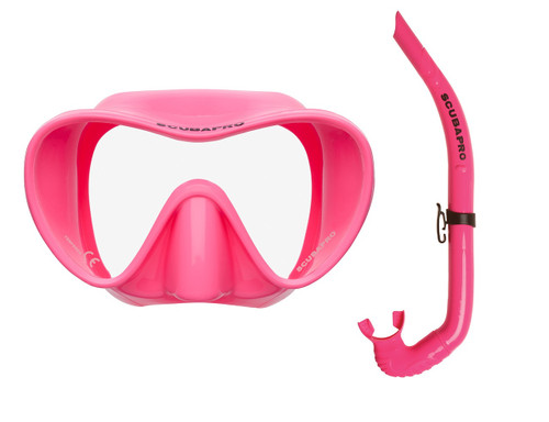 Trinidad / Apnea Free-Diving Set - Pink