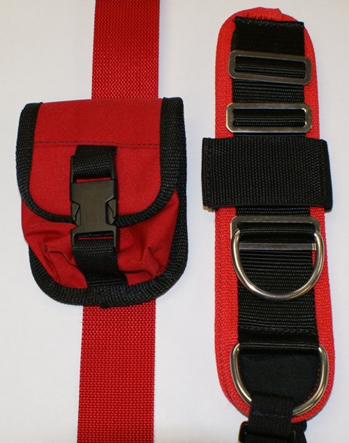 Deluxe Harness - Red