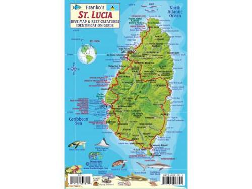 Waterproof Fish ID Card - St Lucia