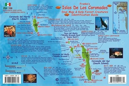 Waterproof Fish ID Card - Isla De Los Coronados