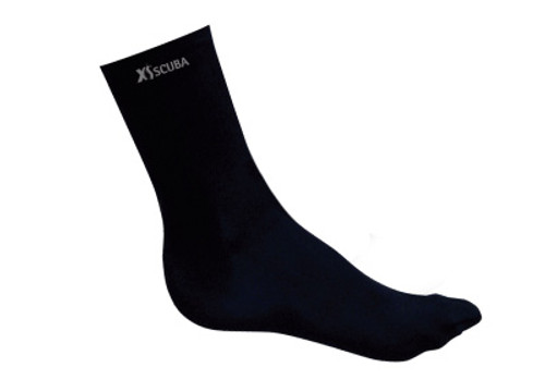 Lycra and polyolefin sock - One-Size-Fits-All