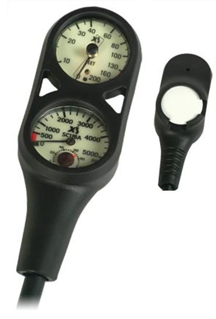 XS Scuba Combo Depth Pressure Console