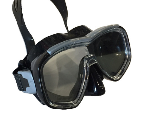 Barracuda II Mask - Black/Black