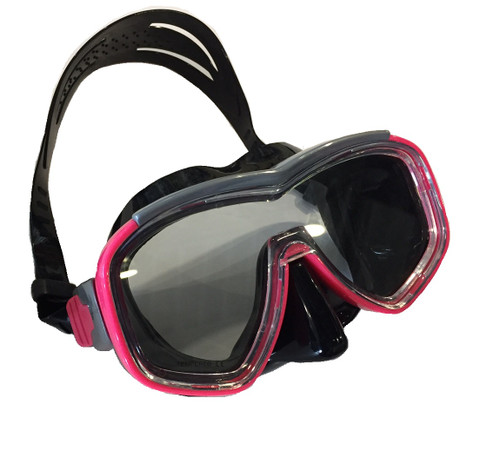 Barracuda II Mask - Black/Pink