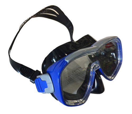 Barracuda II Mask - Black/Blue