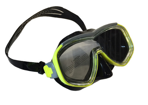 Barracuda II Mask - Black/Yellow