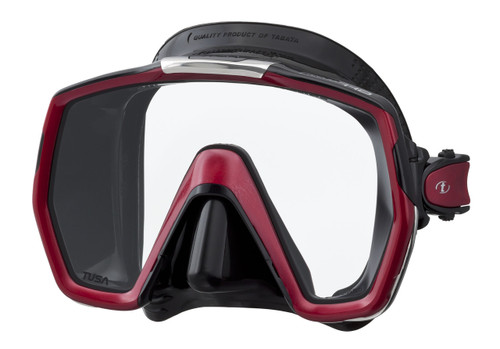 Tusa Freedom HD - Black / Red