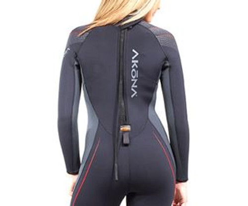 Akona 5mm Quantum Stretch Wetsuit - Back Zipper