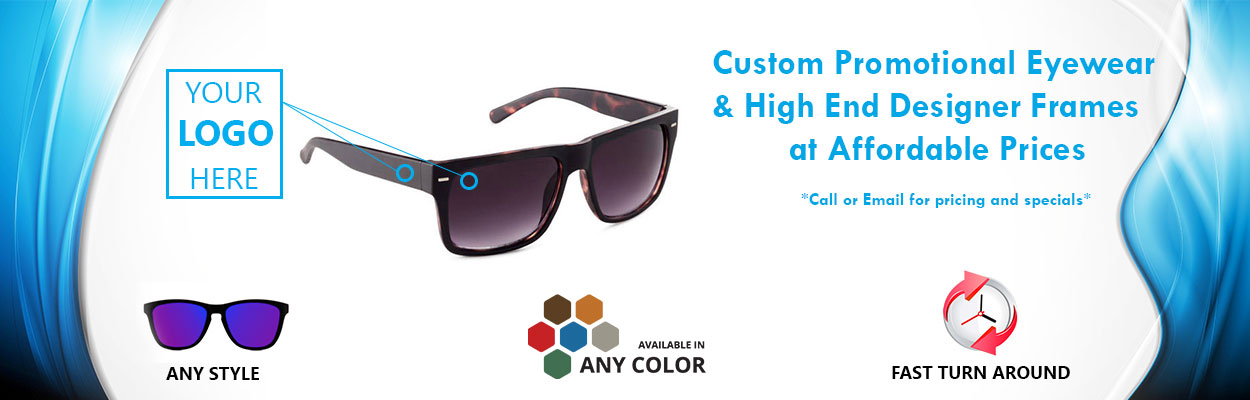 32da2c9527782 Personalized   Custom Logo Sunglasses