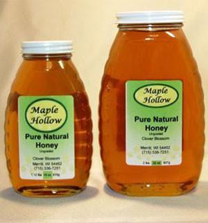 Honey Jar - Clover - 2 Pound - 1 unit