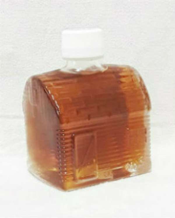 750ml Pure Maple Syrup Amber Rich / Medium Amber - Glass CABIN Shape Bottle Kosher