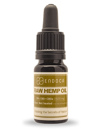 Endoca-RAW Hemp Oil Drops (1500MG CBD+CBDa)
