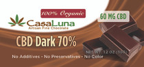 Casa Luna-Chocolate Bar (60MG CBD)