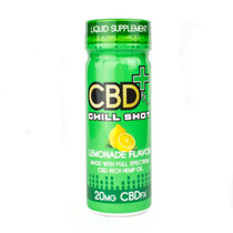 CBDfx Chill Shot (Lemonade) 20mg CBD