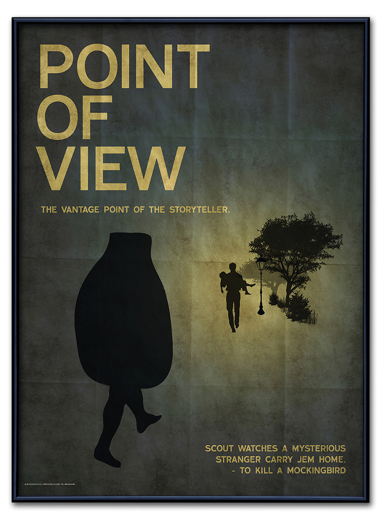Point of View Poster Framed