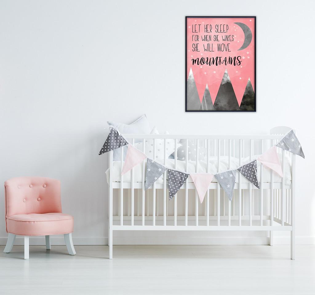 Let Her Sleep Fine Art Print For Home or Nursery. Napoleon Bonaparte Literary Gift