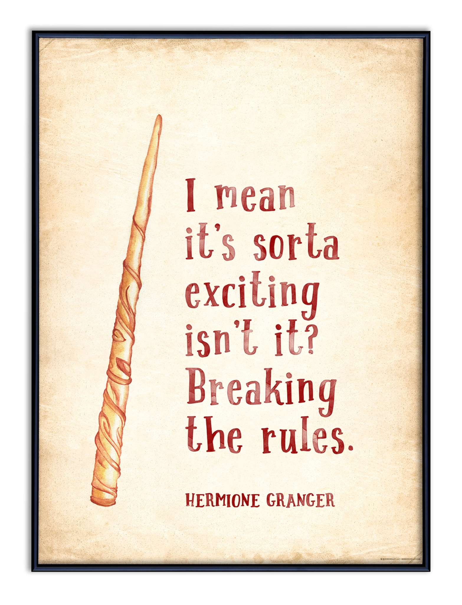 Harry Potter Quote Poster Set of 3 - Harry, Ron, Hermione ...
