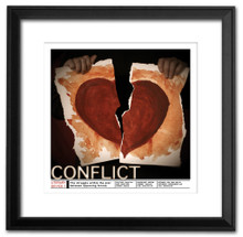 Conflict Literary Poster