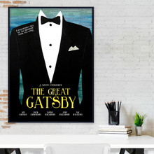 The Great Gatsby- F. Scott Fitzgerald - Classic Novel Fine Art Print for Home, Office, Library, or Classroom