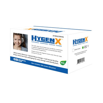 HygenX NatureWeave 100% Biodegradable Sanitary Ear Cushion Covers (4.5