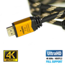 UPTab HDMI™ 2.0a Braided 10ft Cable HDR 4K 60Hz