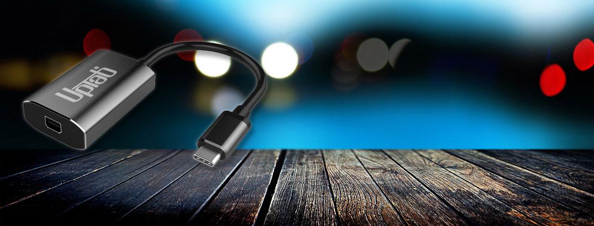 USB-C to Mini DisplayPoer Adapters