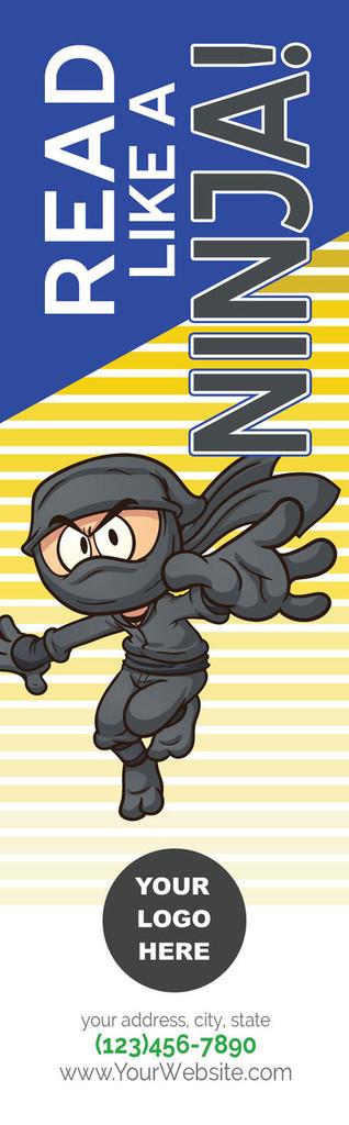 *NEW* Read Like A Ninja Bookmark