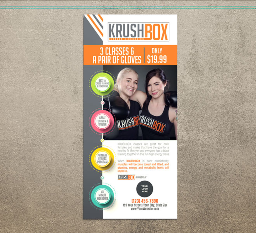 KrushBox Adults Rack Cards