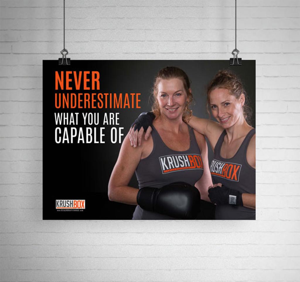 Never Underestimate KrushBox Poster