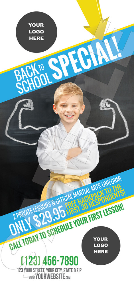 NEW!! Back to School Muscles Rack Cards
