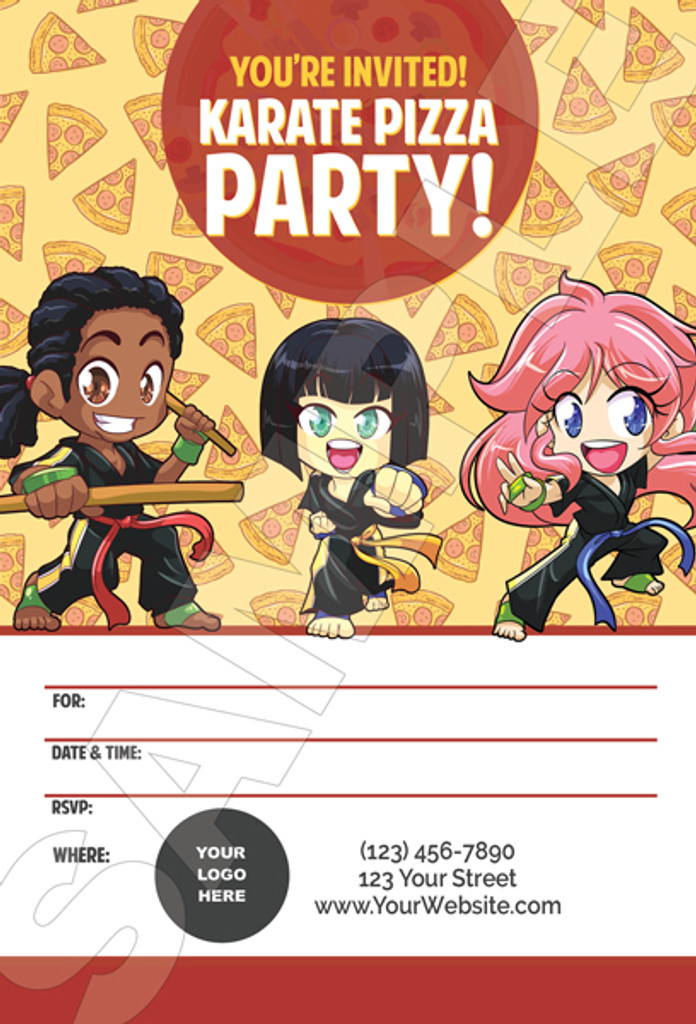 Party Invitation Front