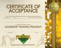 PMA Leadership Training Certificate