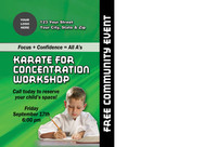 Karate for Concentration Workshop V1