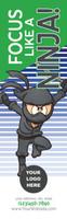 *NEW* Focus Like A Ninja Bookmark