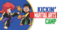 *NEW!! Kickin' Martial Arts/Karate Camp Vinyl Banner V2