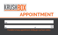KrushBox Business Card Simplistic