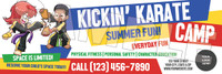 **NEW!! Kickin' Karate Camp V1 Vinyl Banner