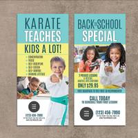 NEW!! Karate Teaches V5 Rack Cards