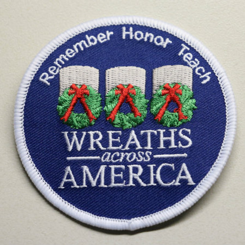 Wreaths Across America Patch
