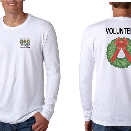 Volunteer T-shirt (Long-Sleeved)